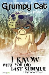 Grumpy Cat - I Know What You Did Last Summer, I Just Don't Care #01