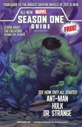Marvel Season One Guide 2012