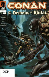 Conan and the Demons of Khitai #1-4 Complete