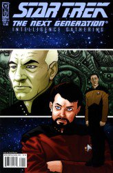 Star Trek: The Next Generation: Intelligence Gathering #1-5 Complete