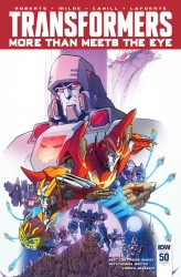 The Transformers - More Than Meets the Eye #50