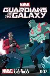Marvel Universe Guardians of the Galaxy Infinite Comic #07