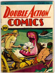 Double Action Comics #2