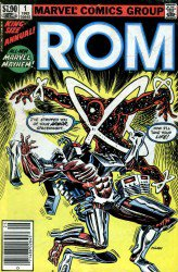 Rom Annual #1–4 Complete