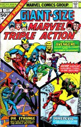 Giant-Size Marvel Triple Action #1-2 Complete