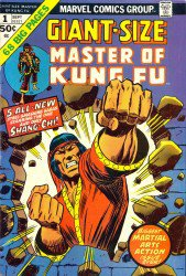 Giant-Size Master of Kung Fu #1–4 Complete