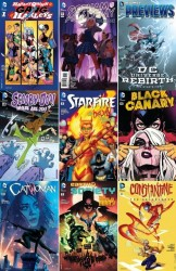 DC week – The New 52 (13.04.2016, week 15)