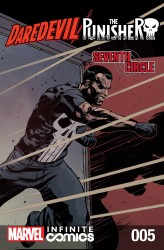 Daredevil - Punisher - Seventh Circle Infinite Comic #5
