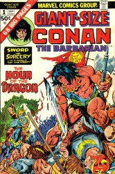 Conan the Barbarian: Giant Size #1-5 Complete