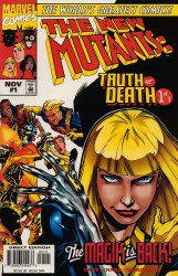 New Mutants Truth or Death #1-3 Complete