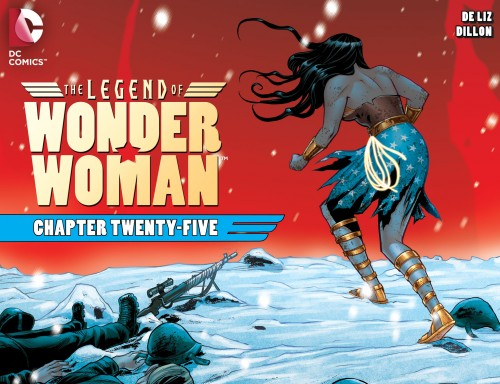 The Legend of Wonder Woman #25