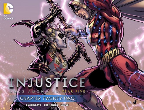 Injustice - Gods Among Us - Year Five #22