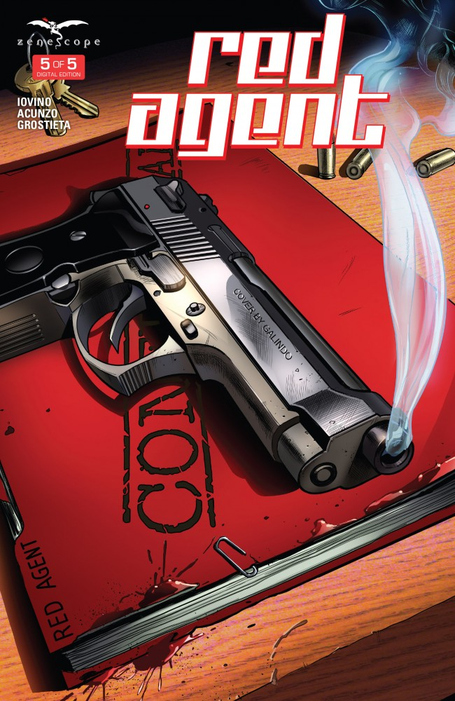 Red Agent #05