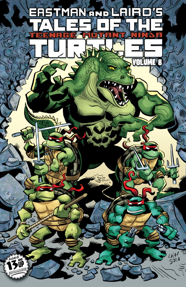 Tales of the Teenage Mutant Ninja Turtles Vol.8