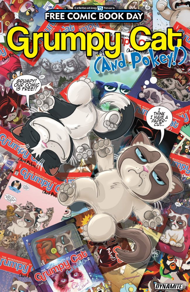 Grumpy Cat (And Pokey!) Free Comic Book Day Special #1