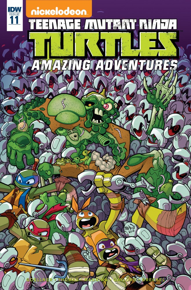 Teenage Mutant Ninja Turtles - Amazing Adventures #11