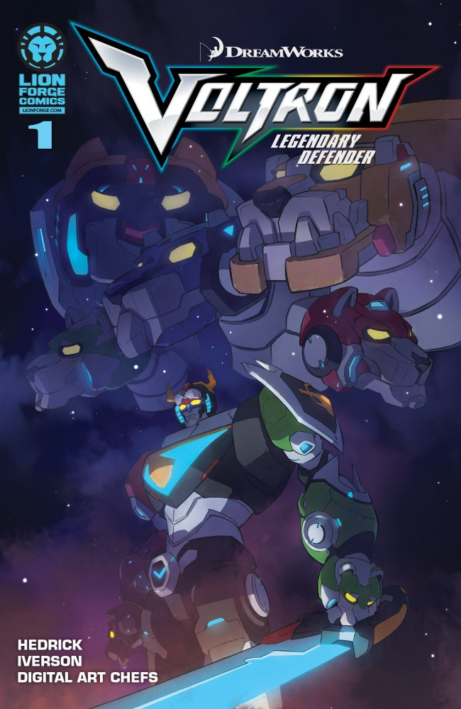 Voltron - Legendary Defender #1