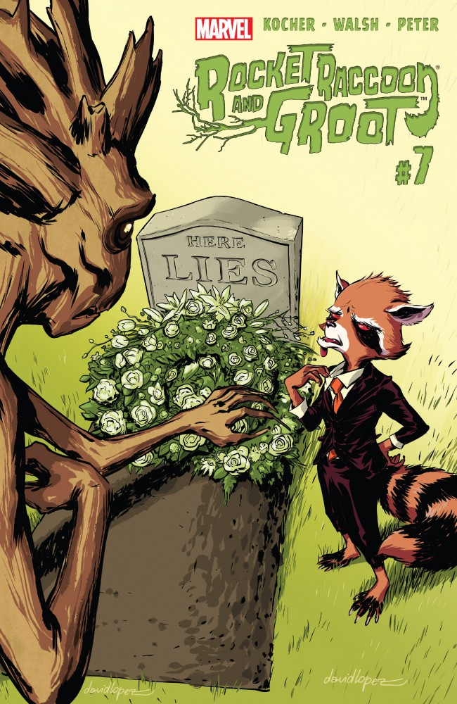 Rocket Raccoon and Groot #07