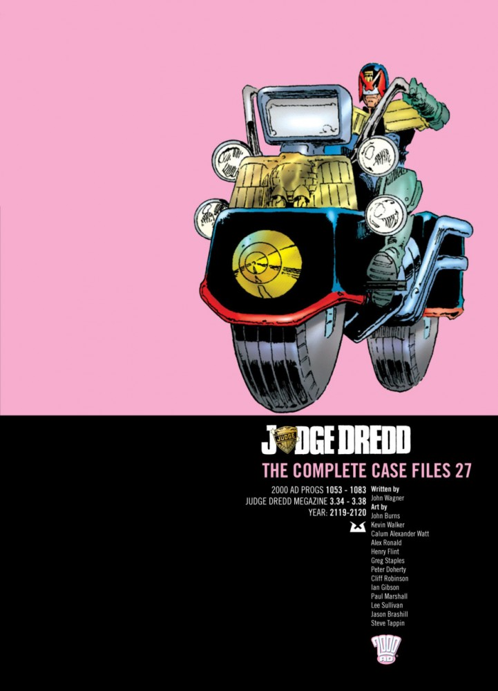 Judge Dredd - The Complete Case Files Vol.27