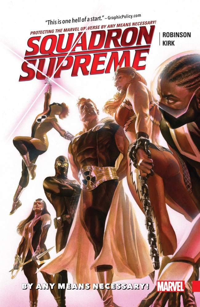 Squadron Supreme Vol.1 - By Any Means Necessary!