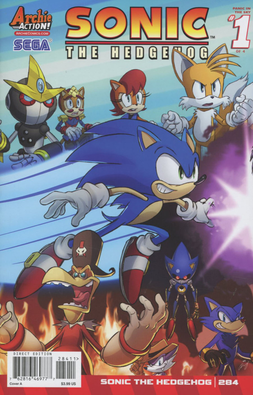 Sonic the Hedgehog #284