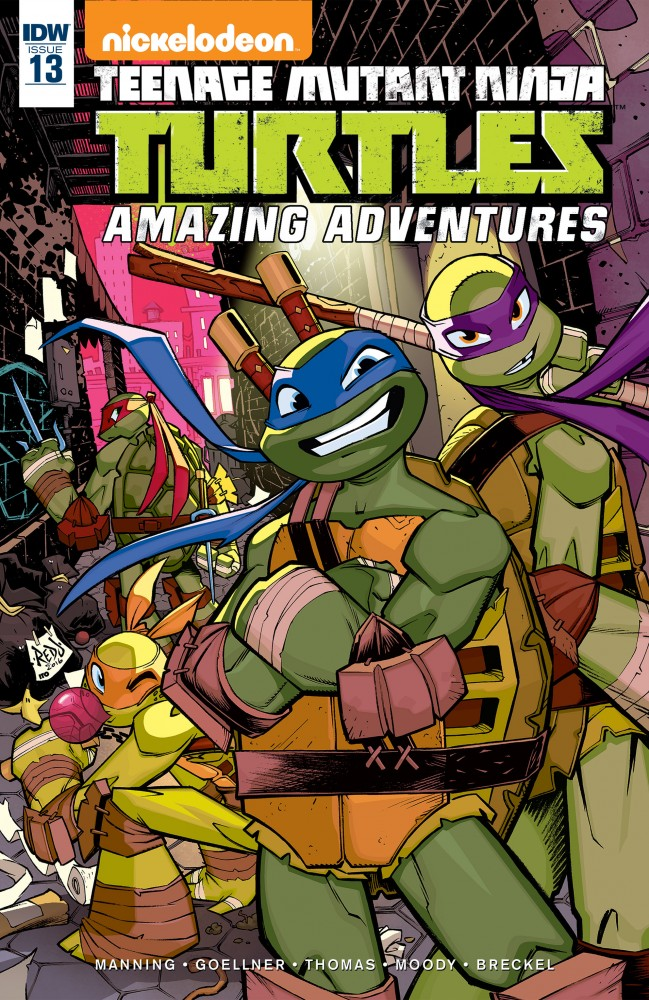 Teenage Mutant Ninja Turtles - Amazing Adventures #13