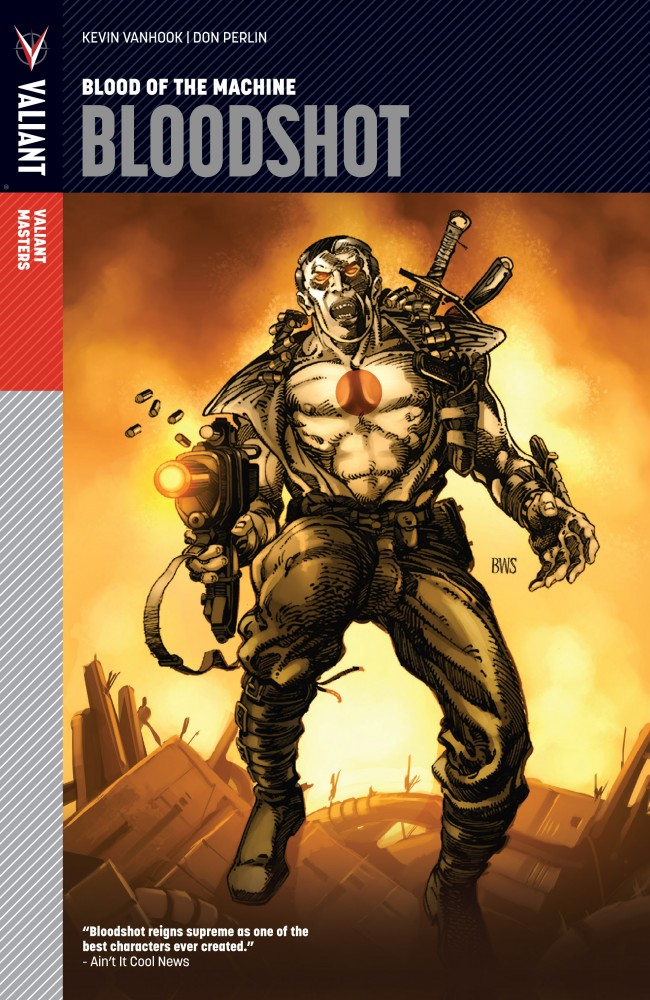 Valiant Masters - Bloodshot Vol.1 - Blood of the Machine