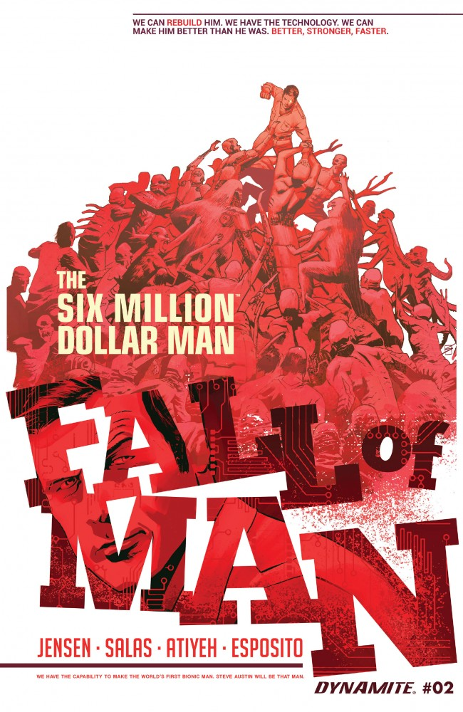The Six Million Dollar Man - Fall of Man #2