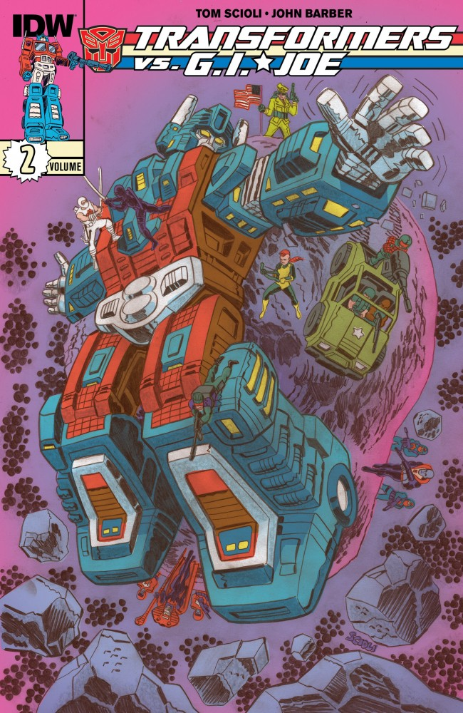 Transformers vs. G.I. Joe Vol.2