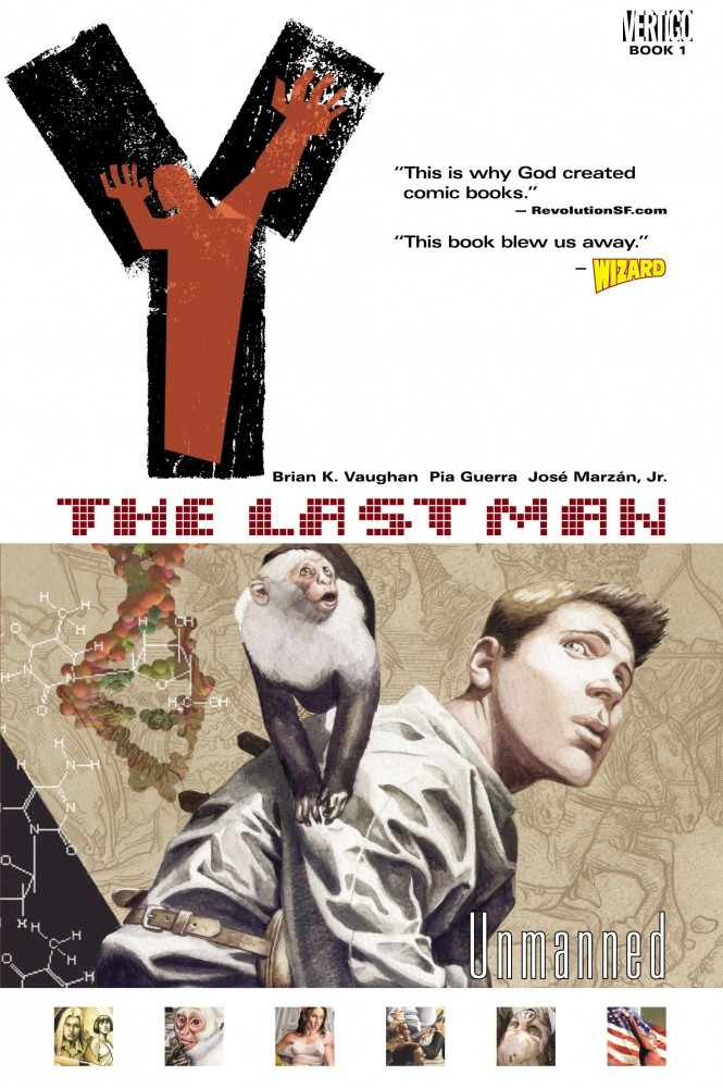 Y - The Last Man Vol.1 - Unmanned