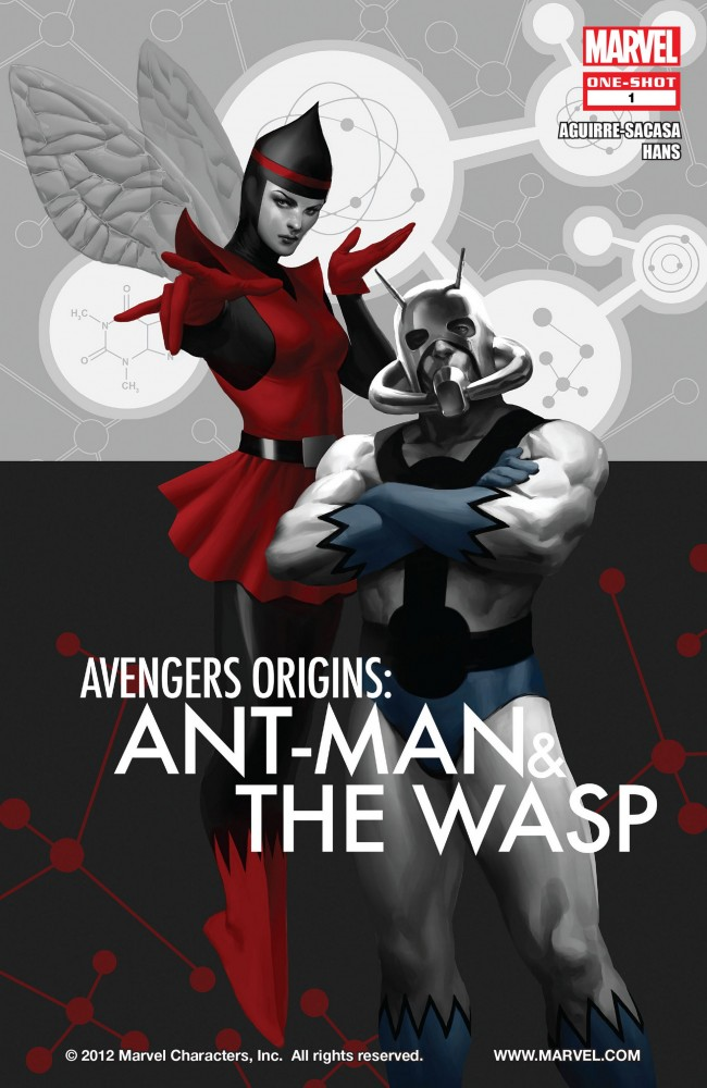 Avengers Origins - Ant-Man and the Wasp #1