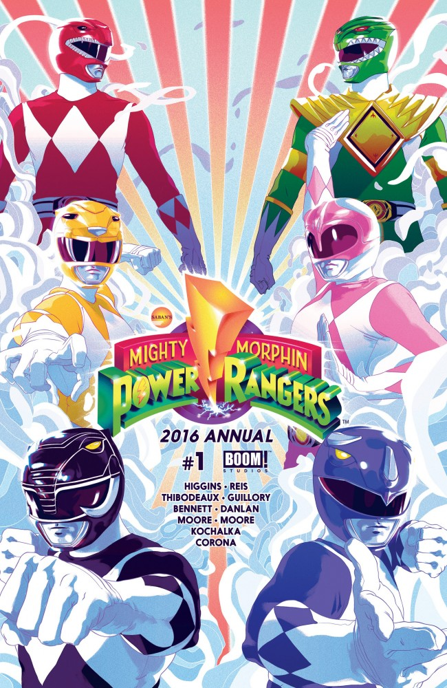 Mighty Morphin' Power Rangers Annual #1