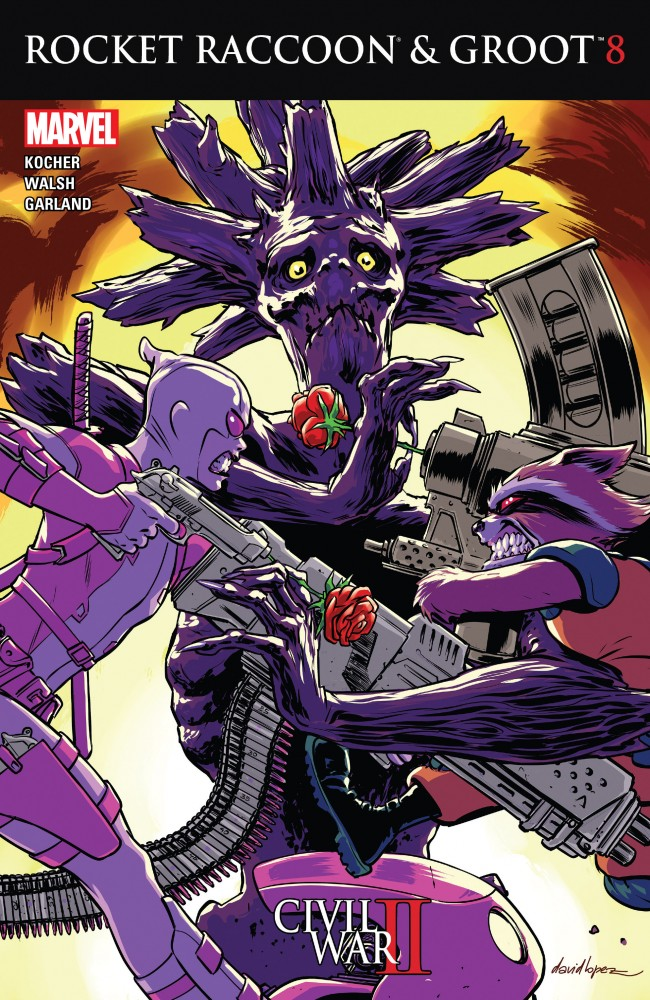 Rocket Raccoon and Groot #08