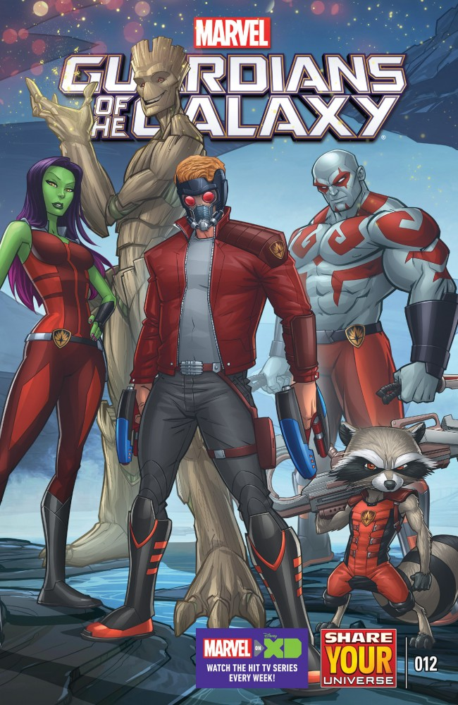 Marvel Universe Guardians of the Galaxy #12