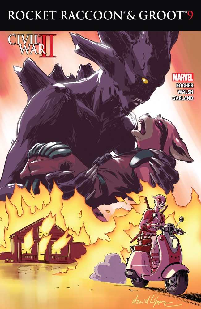 Rocket Raccoon and Groot #09