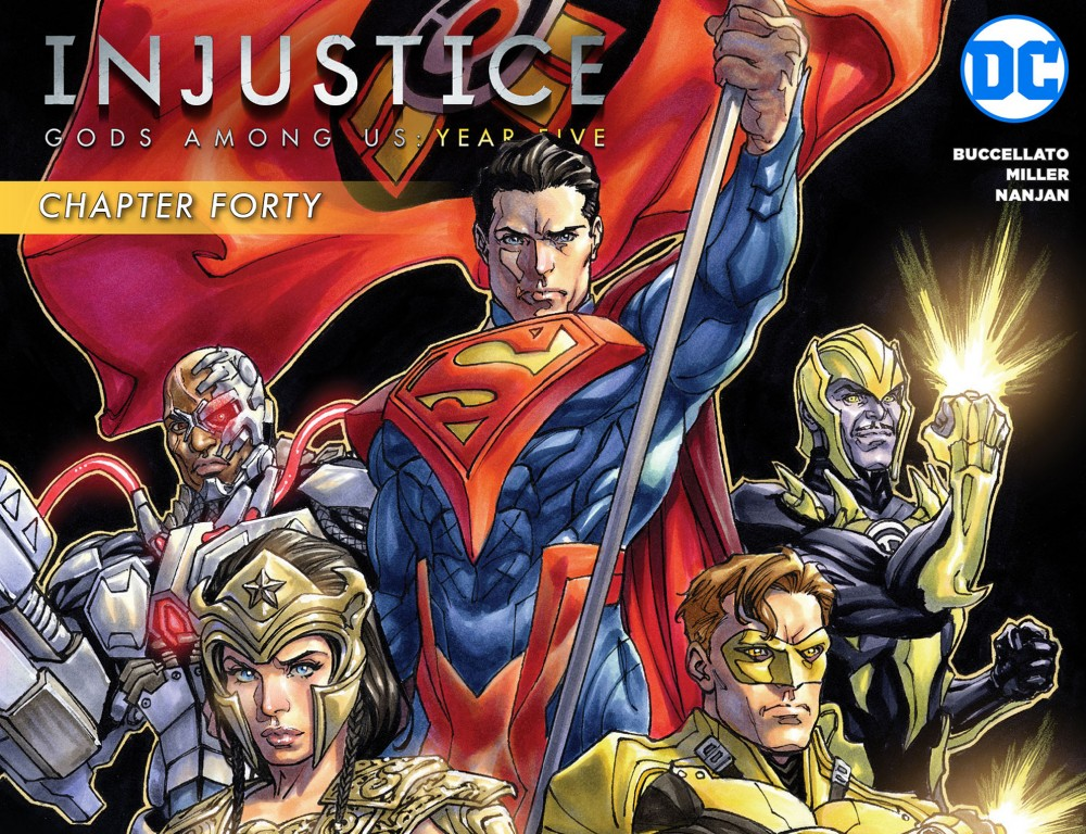 Injustice - Gods Among Us - Year Five #40