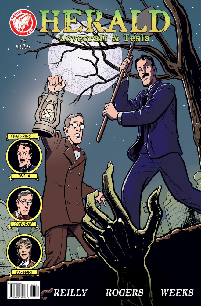 Herald - Lovecraft and Tesla #04