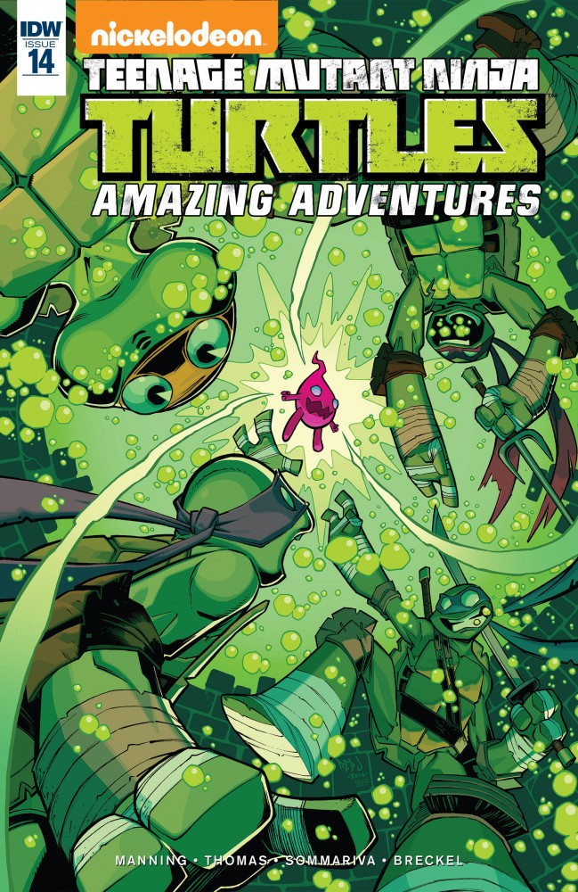 Teenage Mutant Ninja Turtles - Amazing Adventures #14