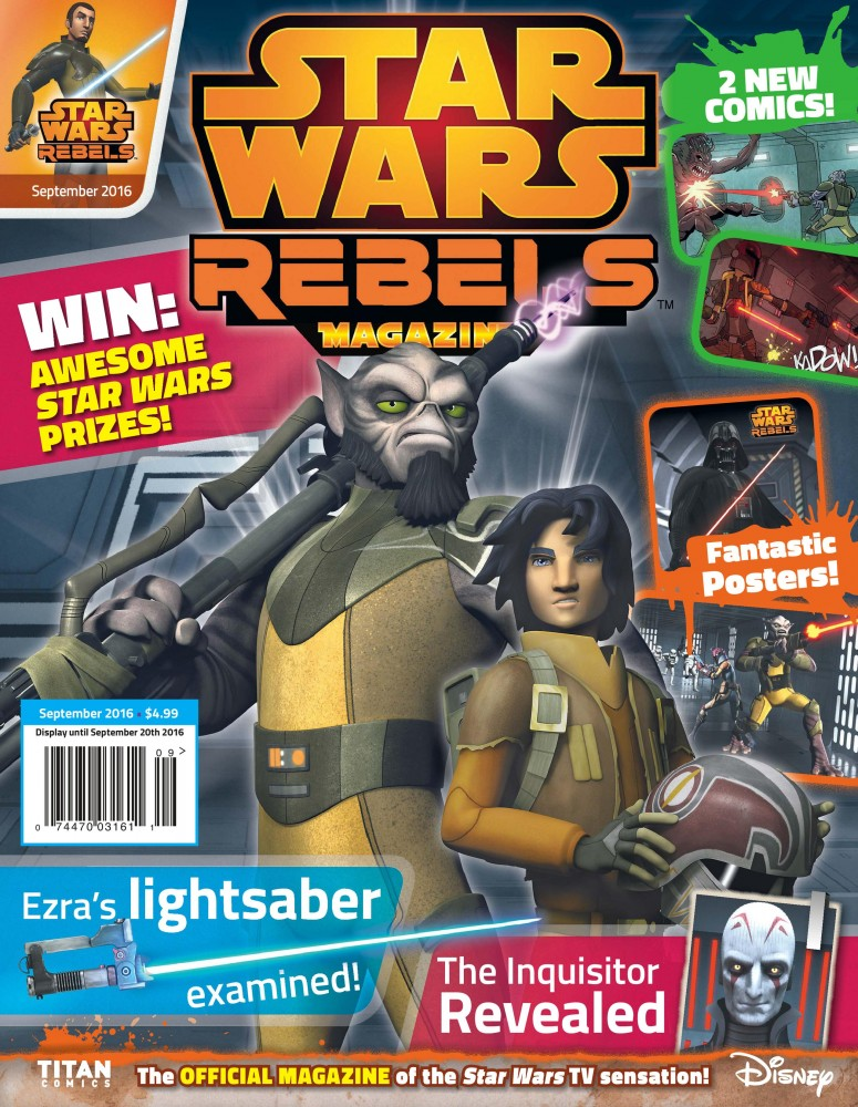 Star Wars Rebels Magazine #06