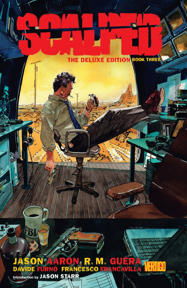 Scalped - The Deluxe Edition Book #3