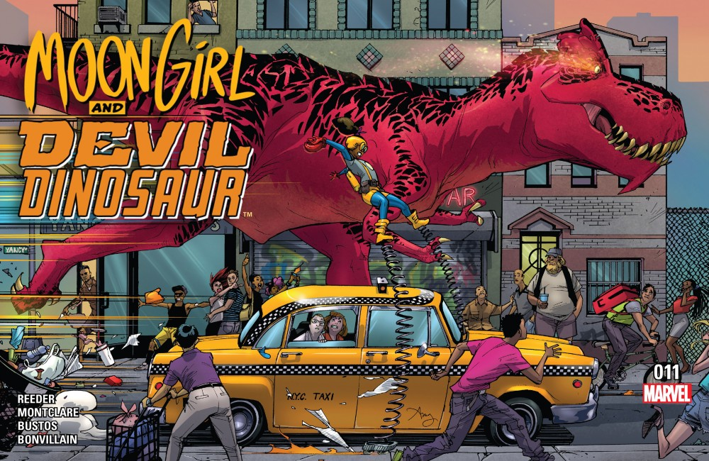 Moon Girl and Devil Dinosaur #11