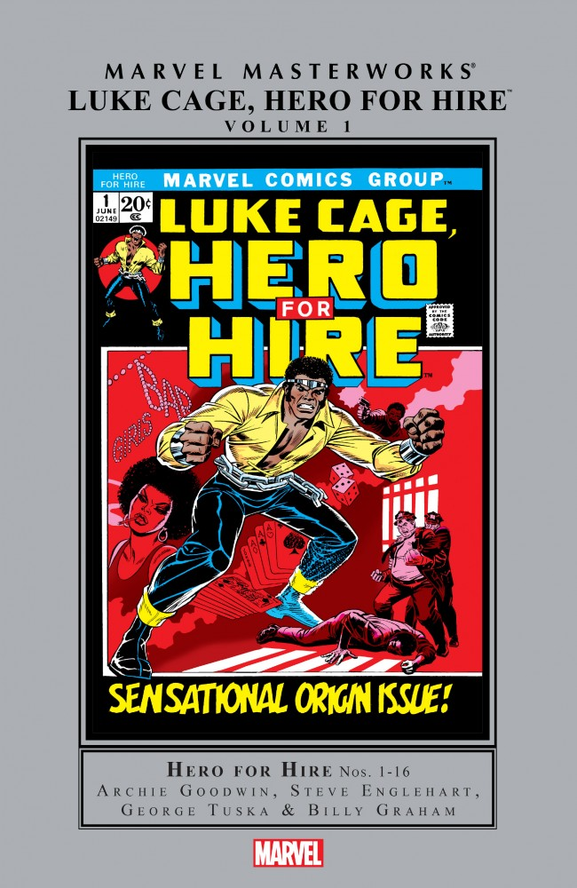 Marvel Masterworks - Luke Cage, Hero for Hire Vol.1