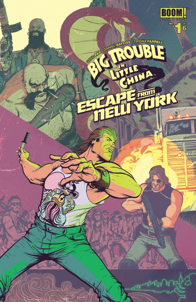 Big Trouble in Little China Escape From New York #1