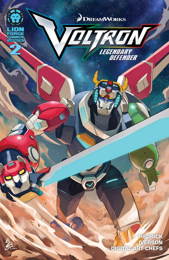 Voltron - Legendary Defender #2