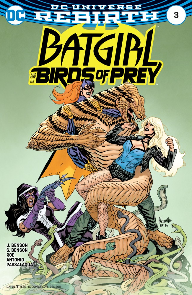 Batgirl and the Birds of Prey #3