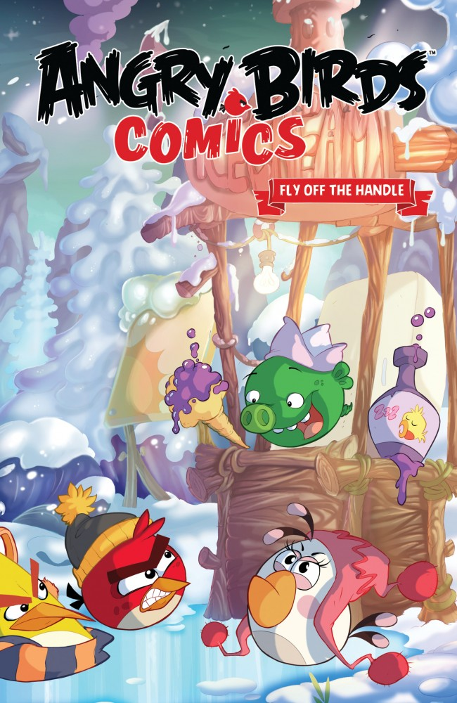 Angry Birds Comics Vol.4 - Fly Off the Handle