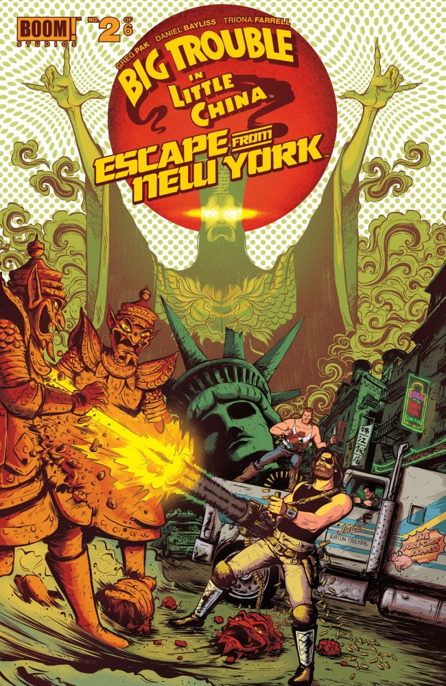 Big Trouble in Little China Escape From New York #2