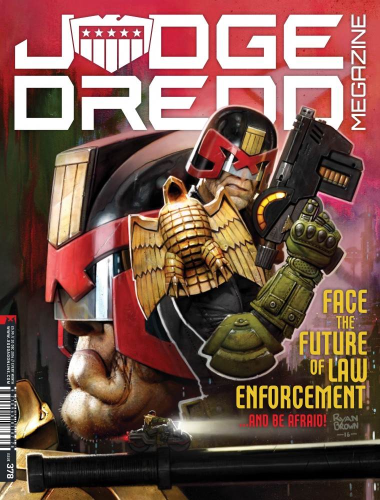 Judge Dredd The Megazine #378