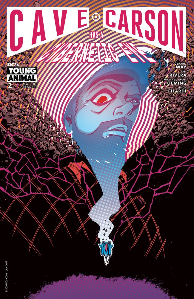 Cave Carson Has a Cybernetic Eye #2