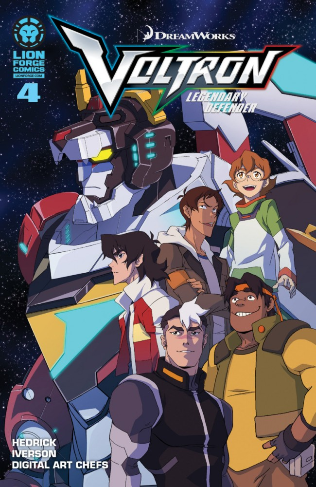 Voltron - Legendary Defender #4